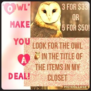 GREAT DEALS FOR SUMMER & SPRING NIGHT OWLS!